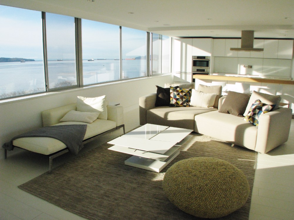 English Bay-apartment-contemporary-modern-white-living room