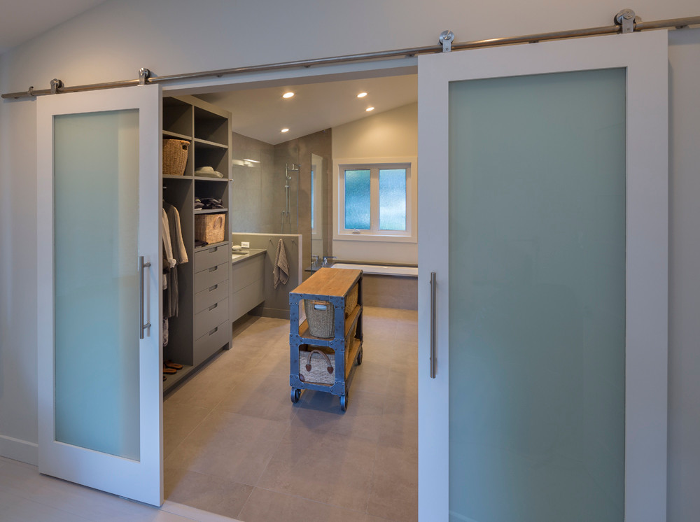 Whistler-Contemporary-modern-bathroom-glass barn door