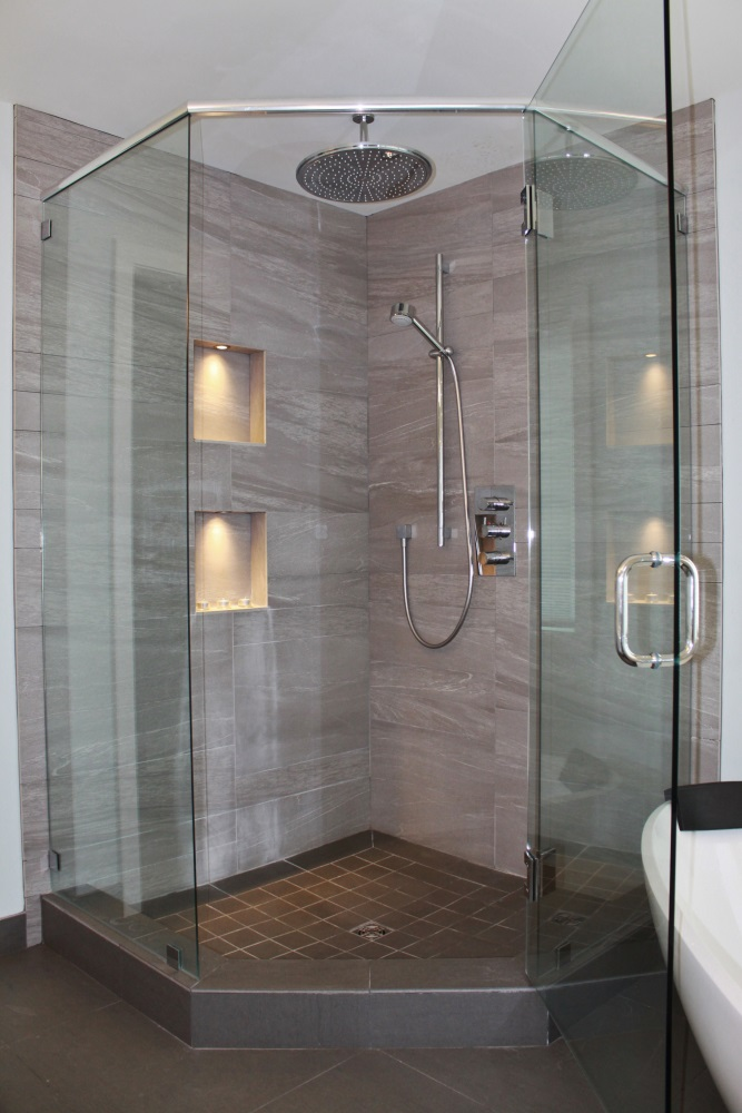 W 22nd Ave- Bathroom-contemporary-modern-corner glass shower