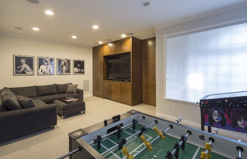 W 42nd ave- contemporary-modern-games room