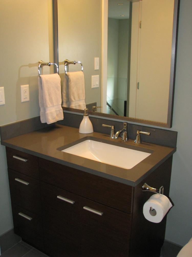 W 49th Ave-contemporary -modern-powder room-undermount sink